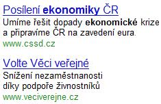 ČSSD - ekonomika