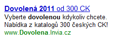 Dovolená 2011 - Invia