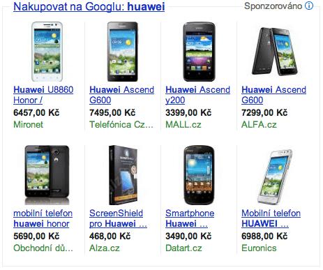 Product Listing Ads: hueawei