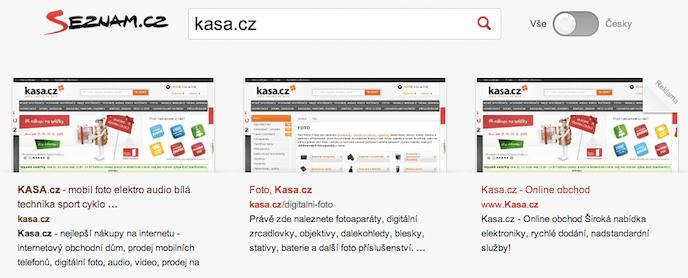 """Seznam vyhledávání - brand """"Kasa.cz"""""""